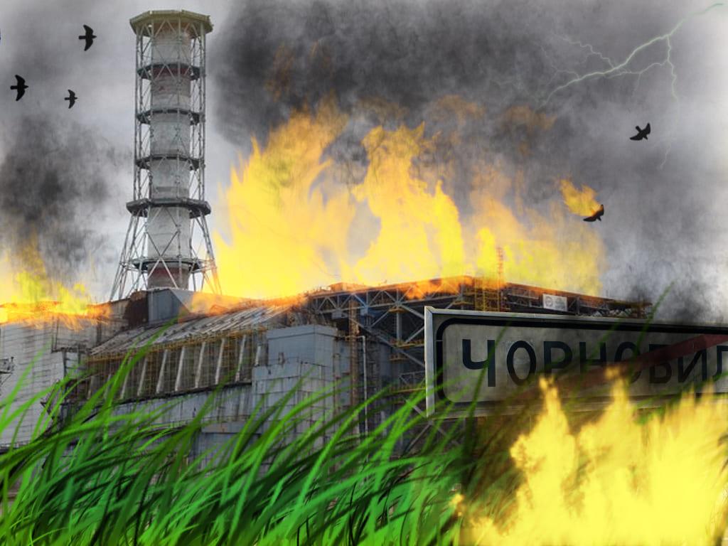 Чарнобыль. Аварыя на ЧАЭС.
