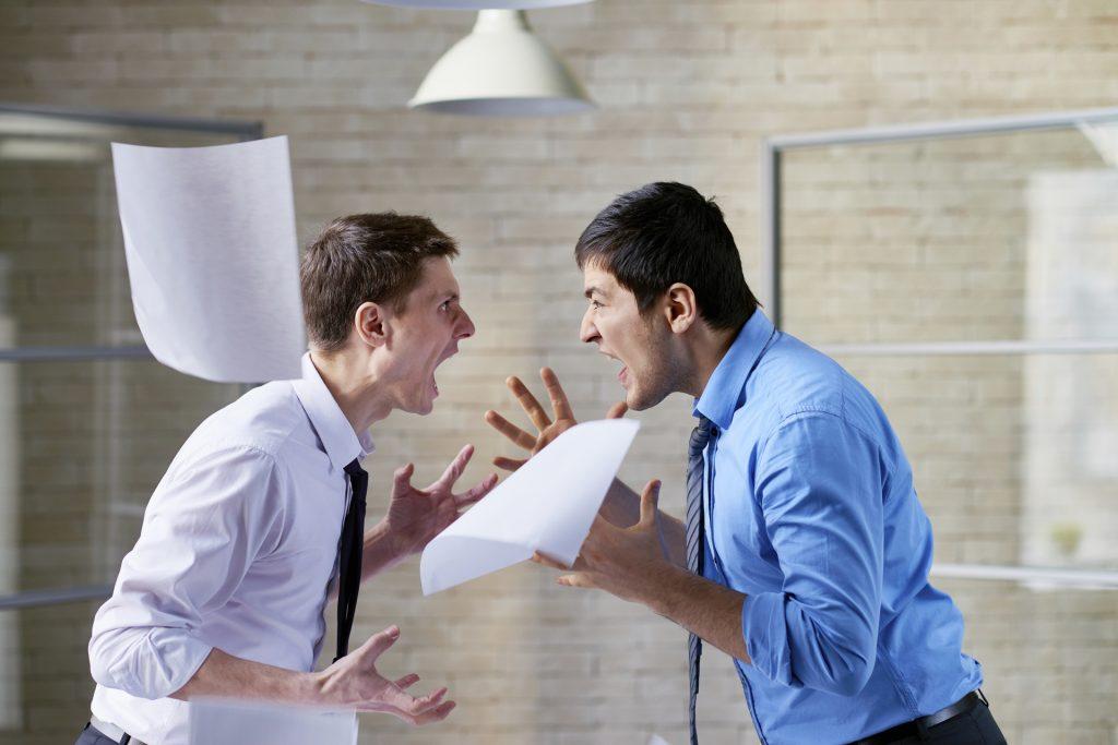 Канфлікт на працы. Што рабіць?
