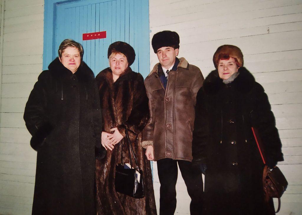 Вечар сустрэчы з выпускнікамі. Кліноцкая школа.