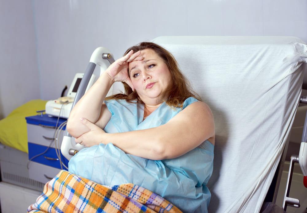 Жаночы рак. Калі паўната замінае аперацыі.