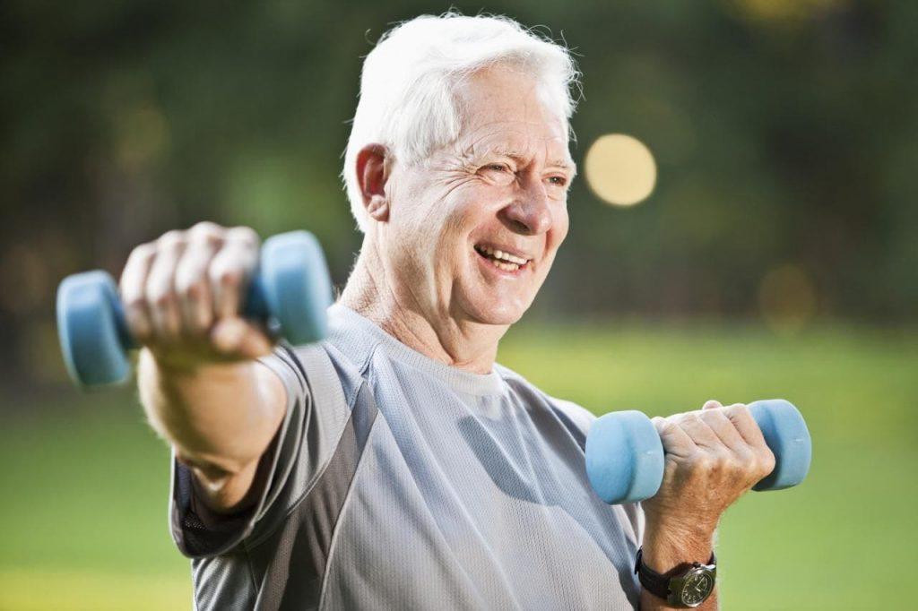 Саркапенія. Важнасць фізічнай актыўнасці.