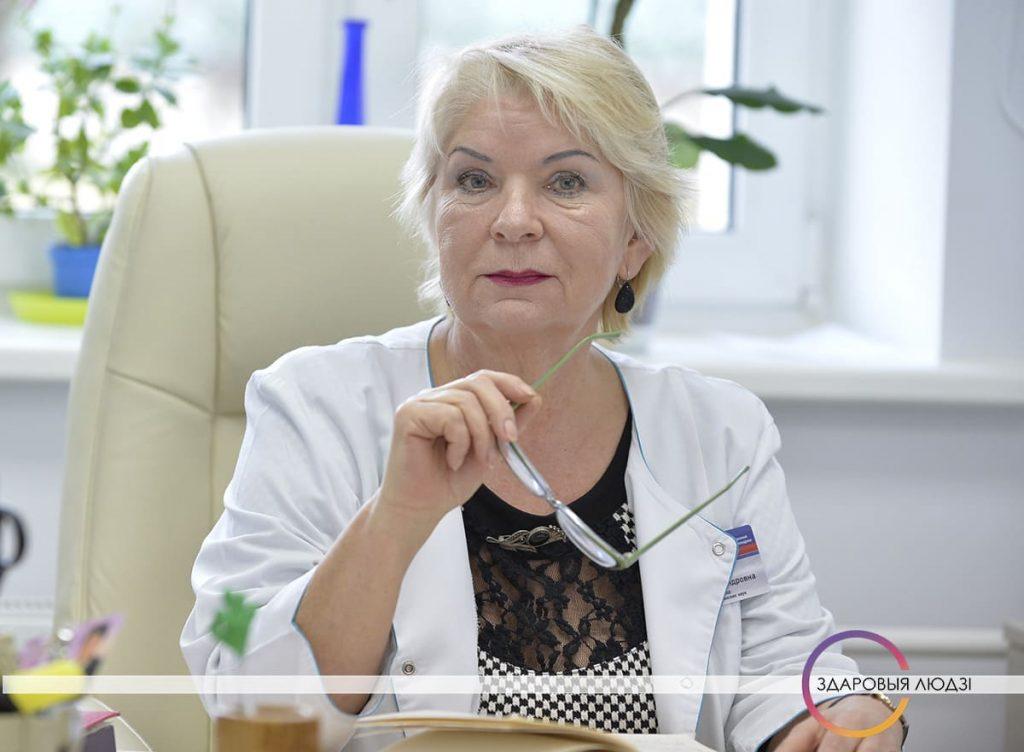 Ірына Касенка, анколаг, доктар медыцынскіх навук
