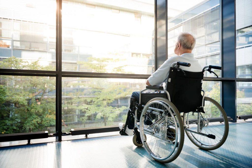 Рассеяны склероз. Інваліднасць.