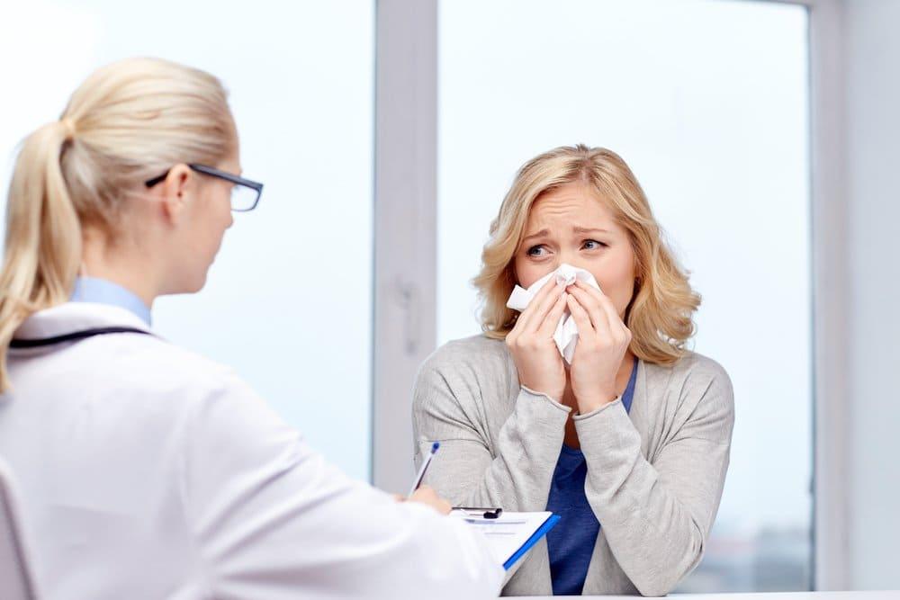 Прастуда ці алергія?