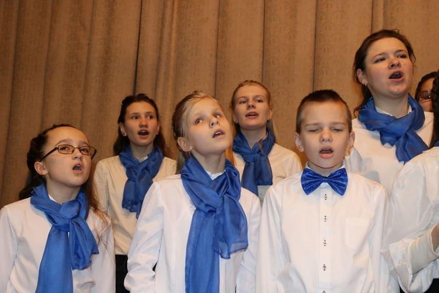 Инклюзивный хор «Радость души».