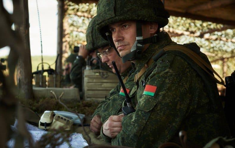 23 лютага. Беларускія вайскоўцы.