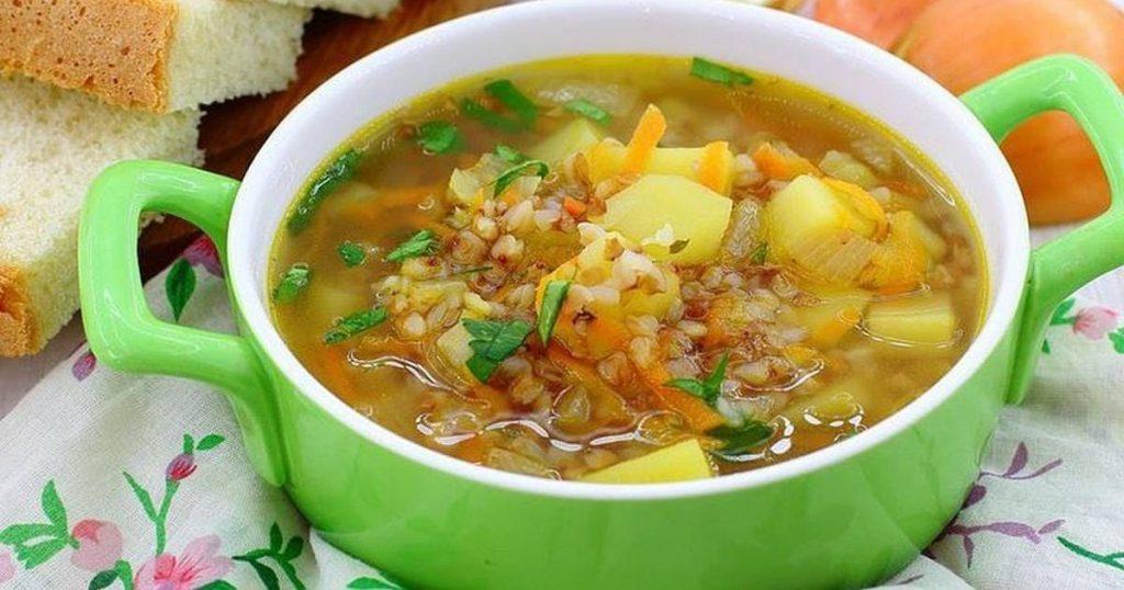 Грэчка. Суп з грэчкі.