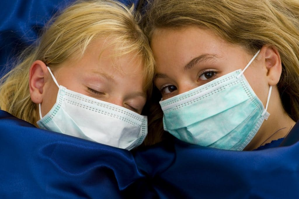 Маскі медыцынскія. Догляд хворага.