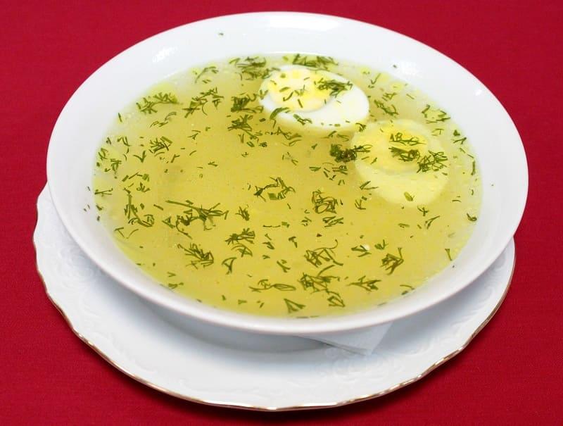 Суп. Міжнародны дзень супу. Курыны булён.