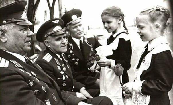 9 Мая. Дзень Перамогі. Ушанаванне ветэранаў у СССР.