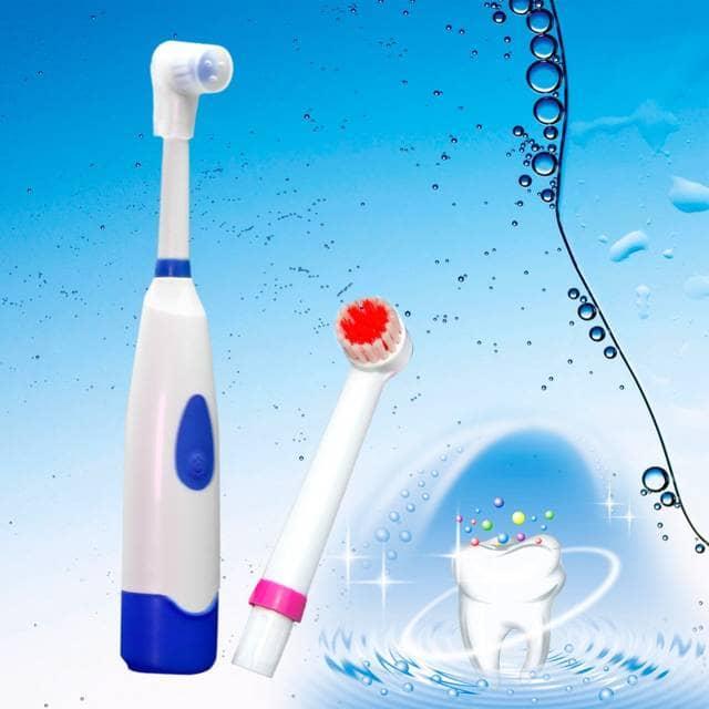 Зубная шчотка. Электрычная ў падарунак.