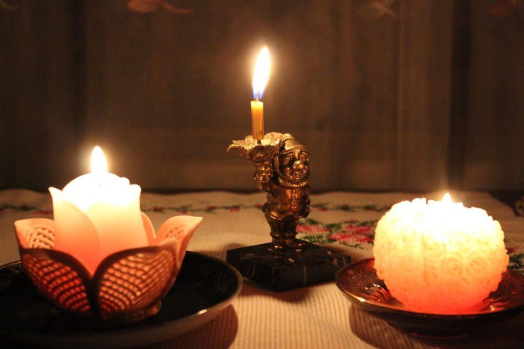 Трэцяя Прачыстая. Свята свечкі.