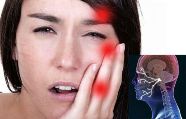 Нещралгия трайчастага нерва. Боль.