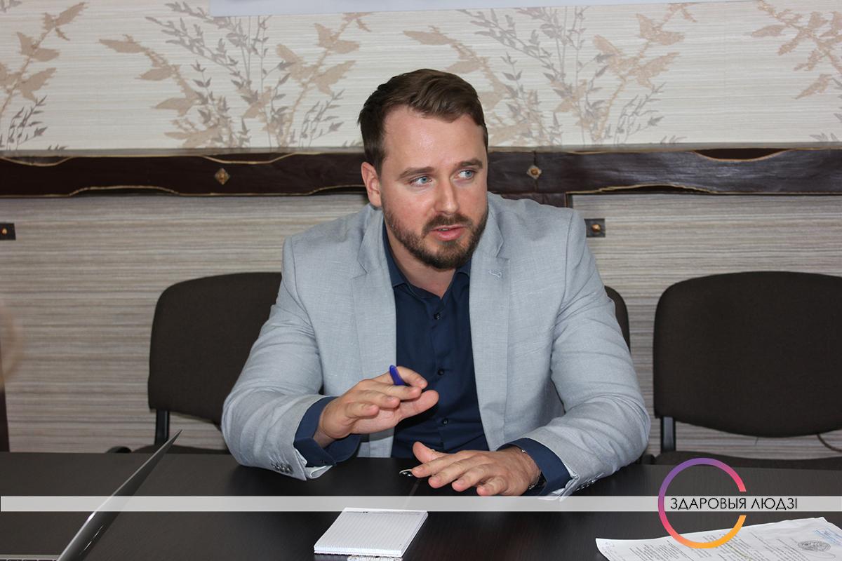Ігар Стома, дацэнт кафедры інфекцыйных хваробаў БДМУ, доктар мед.навук.