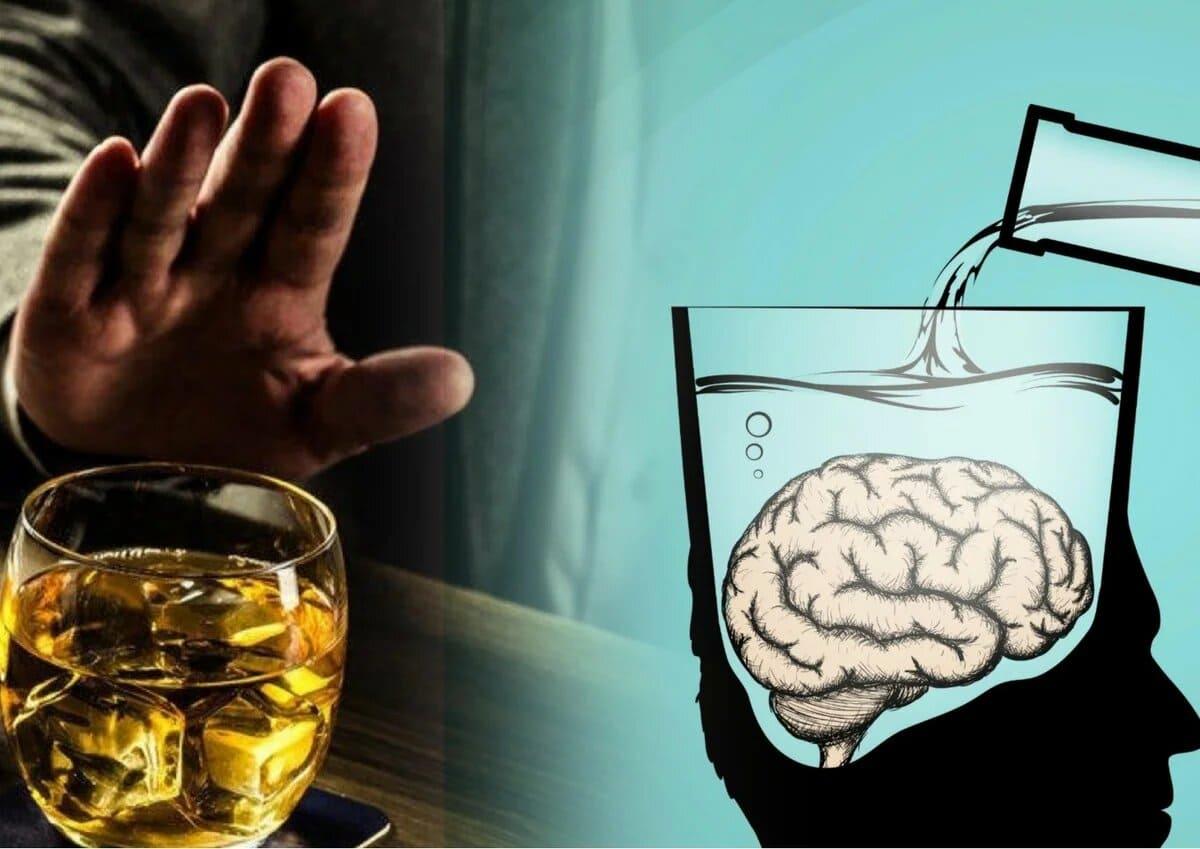 Алкаголь і мозг. Негатыўны ўплыў.