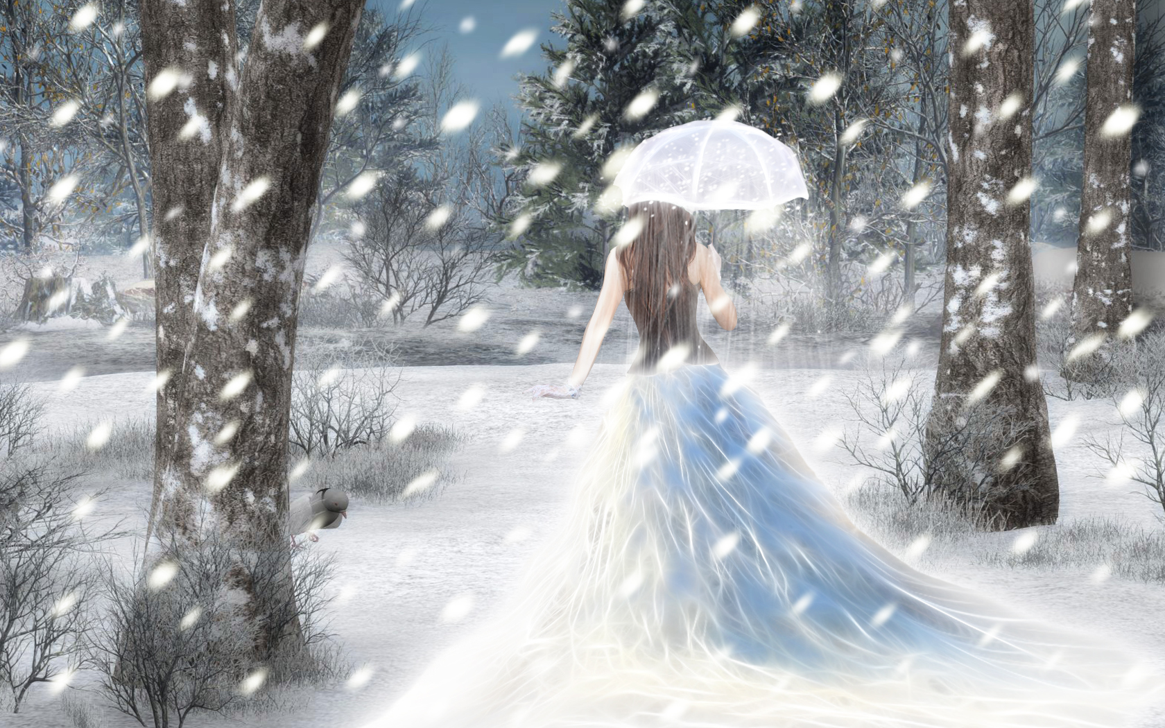 Снежныя анёлы. Місія на Зямлі – сачыць за снегам.