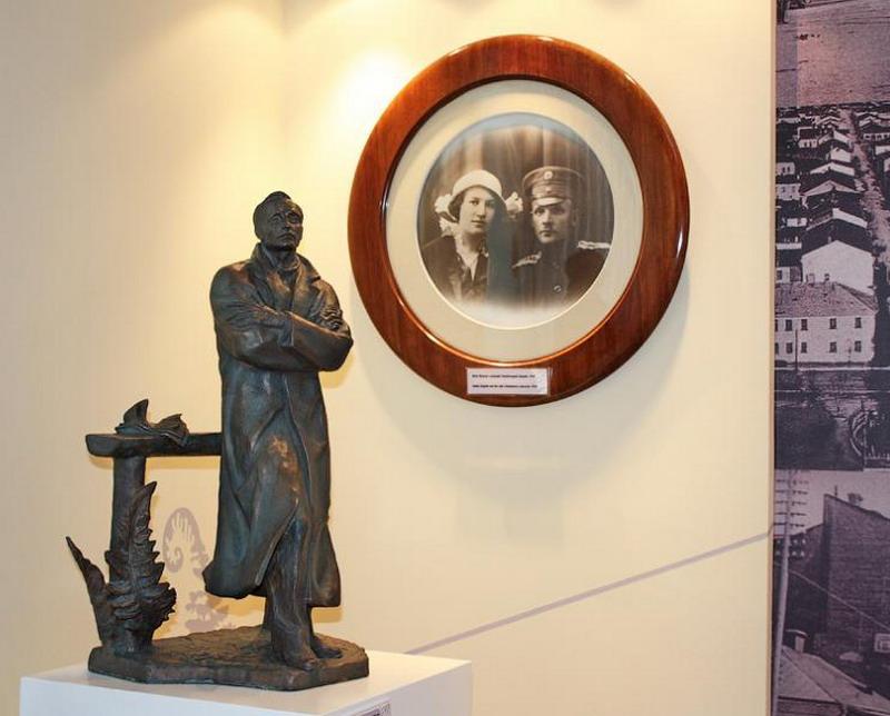 Выстаўка ў музеі Янкі Купалы.