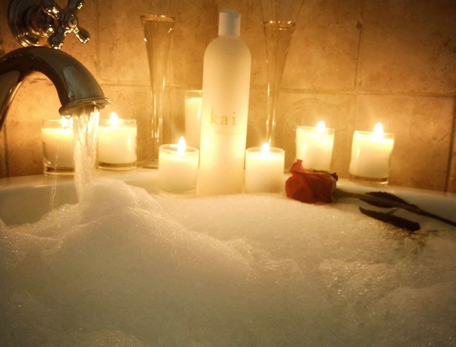 Здаровы Новы год. Ванна з пенай.