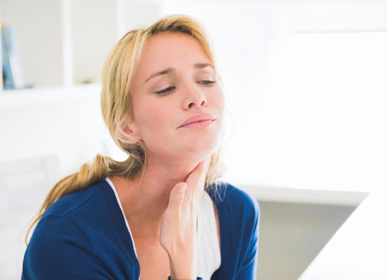 Шчытападобная залоза. Не заўсёды хворая яна, калі камяк у горле.