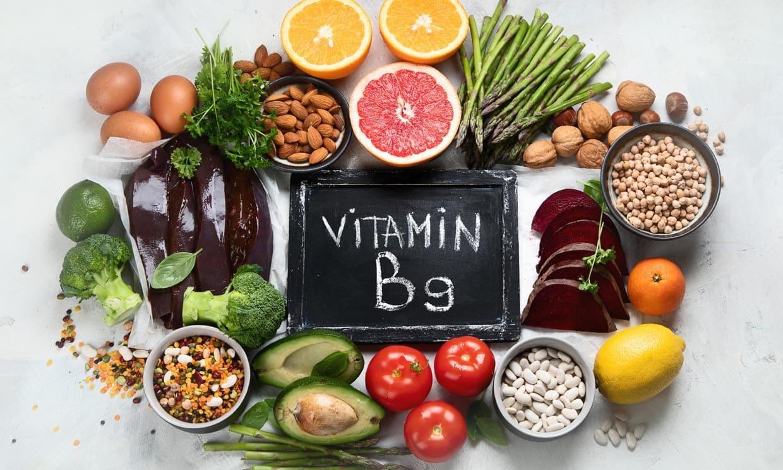 Вітаміны групы В. Фоліевая кіслата.