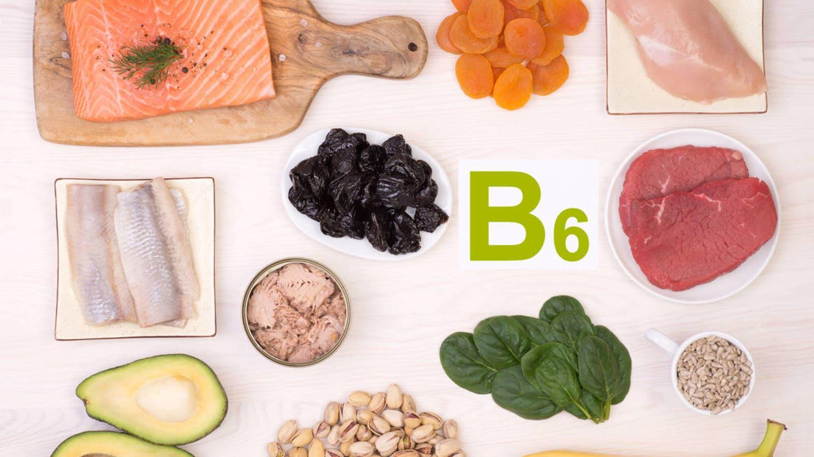 Вітаміны групы В. Для чаго патрэбны В6.