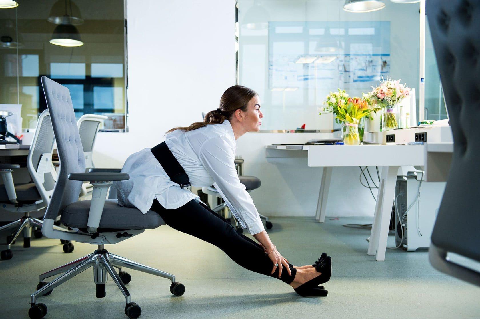 Трэніруем мозг. Фізічная актыўнасць у офісе.