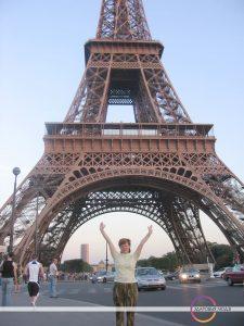 Эйфелева вежа. Парыж у юбілейны год.