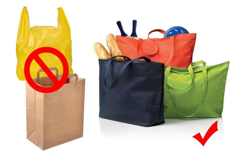 Пластыкавыя адходы. Адмова ад аднаразовай упакоўкі.