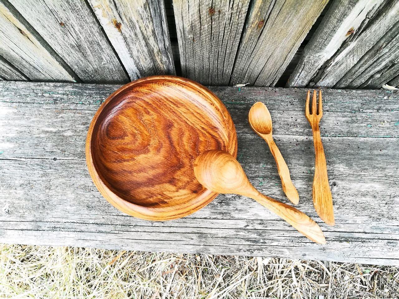 Пластыкавыя адходы. Альтэрнатыва – драўляны посуд і прыборы.