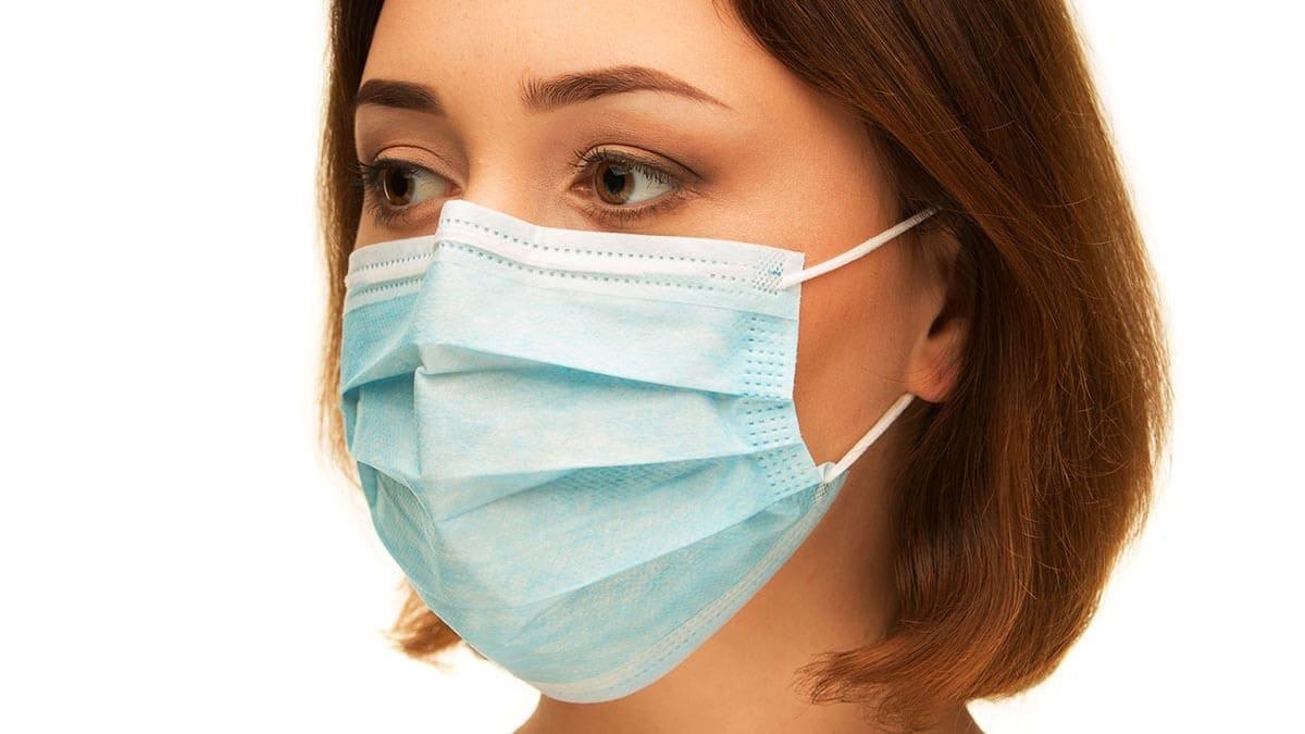Сіндром сухога вока. Як правільна насіць медыцынскую маску.