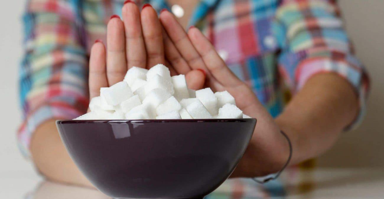 Правільная ежа. Шмат цукру шкодна.