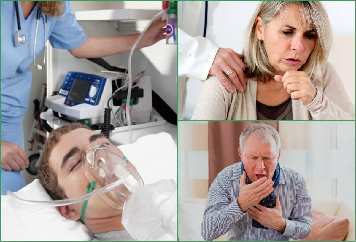 COVID-19 пнеўманіі. Звяртаем увагу на задышку, боль у грудзях.