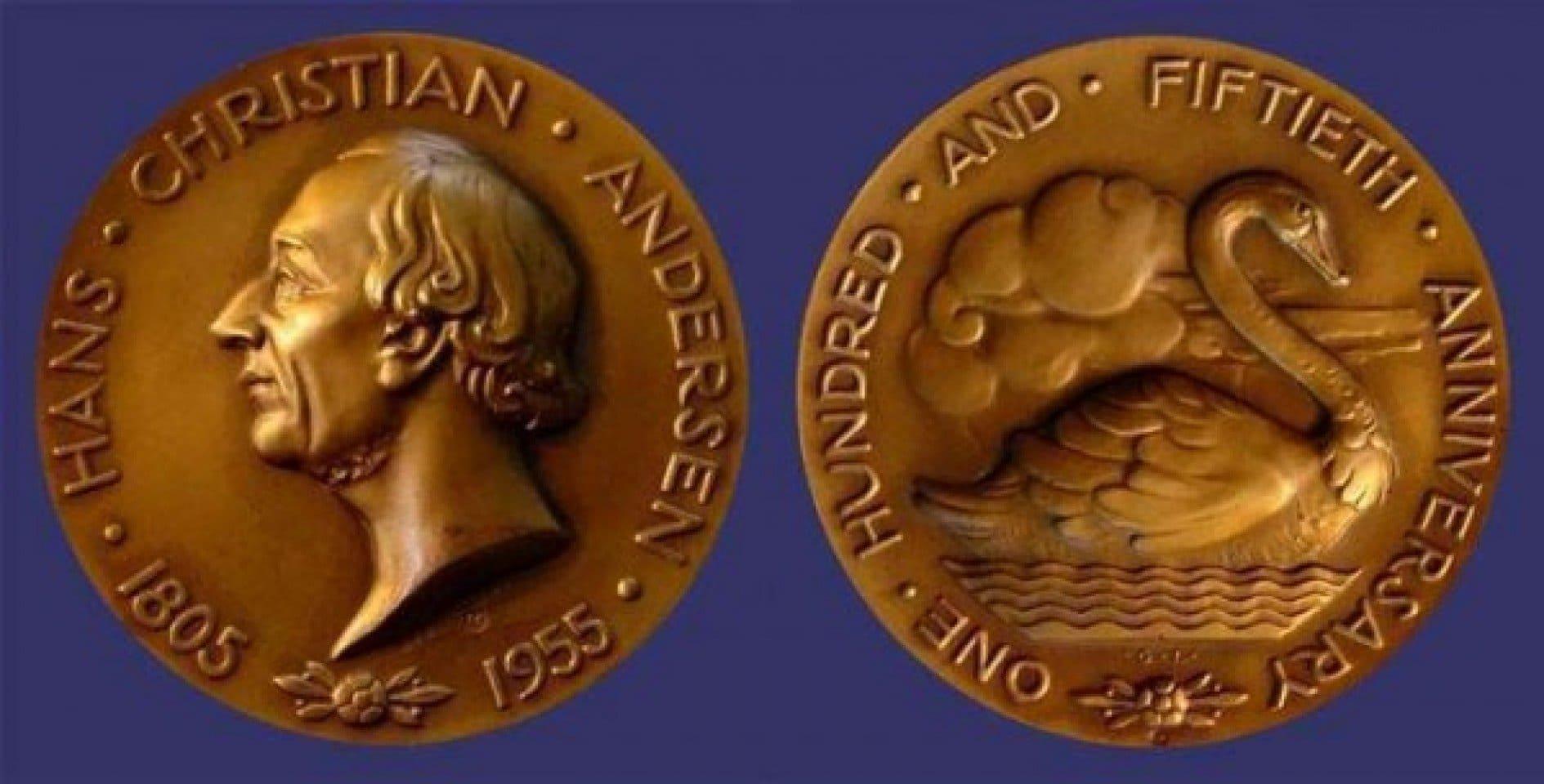 Андэрсэн. Залаты медаль Залаты медаль Ганса Хрысціяна Андэрсэна