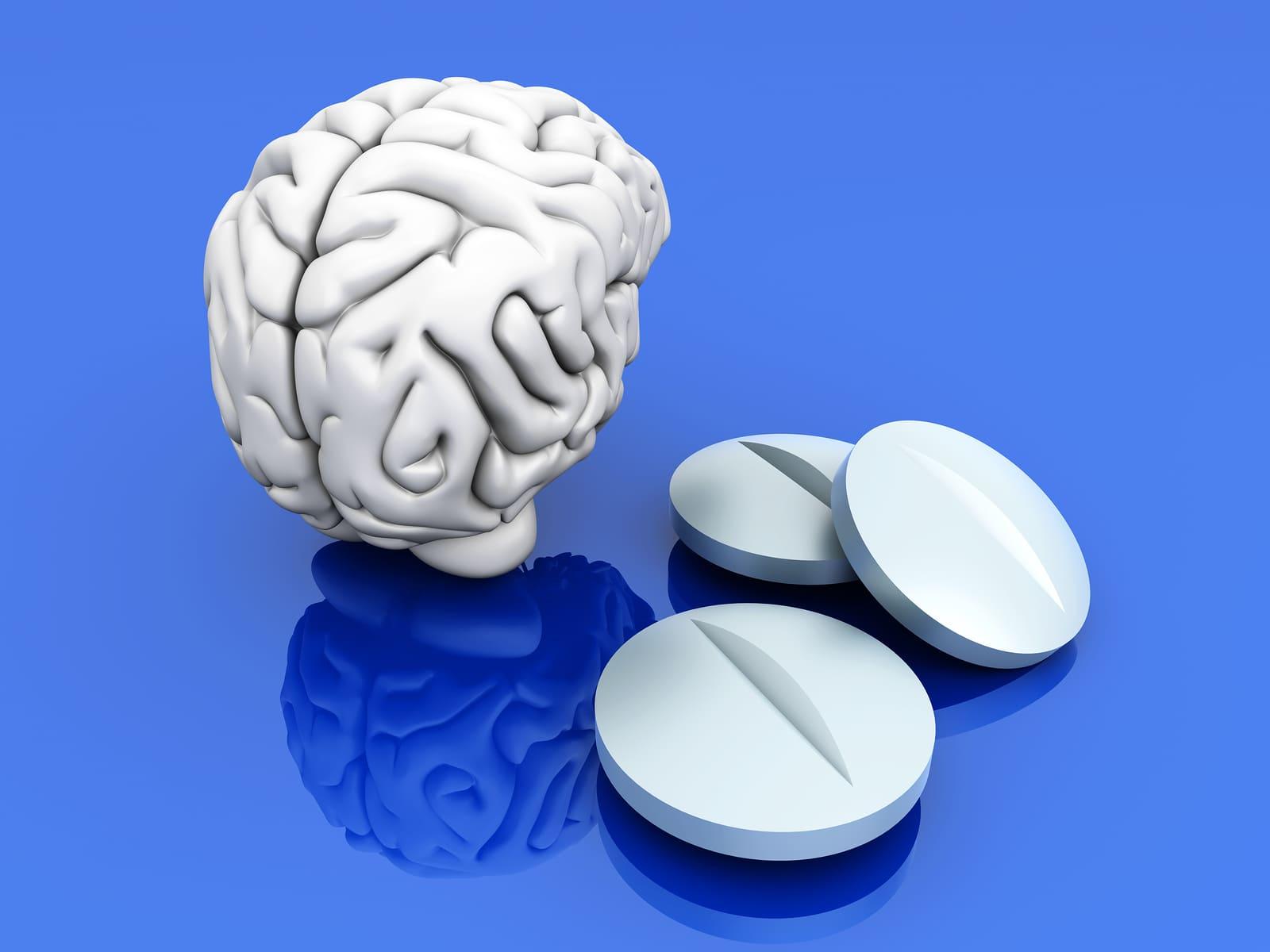 Алкагольі лекі. Як транквілізатары ўплываюць на мозг.