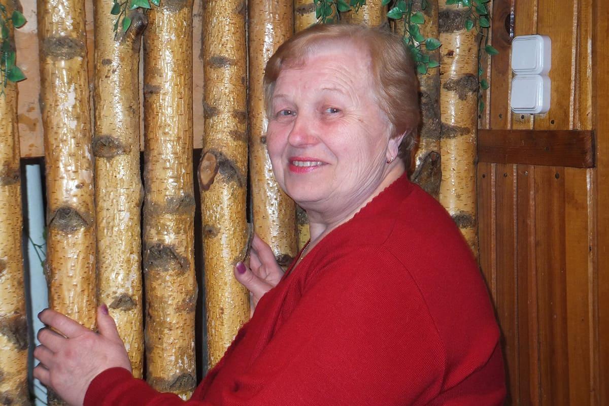 Алег Навіцкі. Мама касманаўта, Валянціна Эдуардаўна Навіцкая.