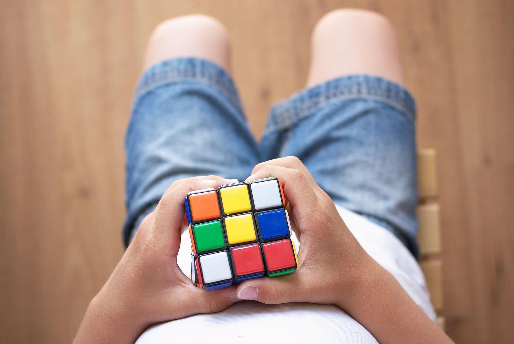 Кубік Рубіка. Рэкорды па збіранні.