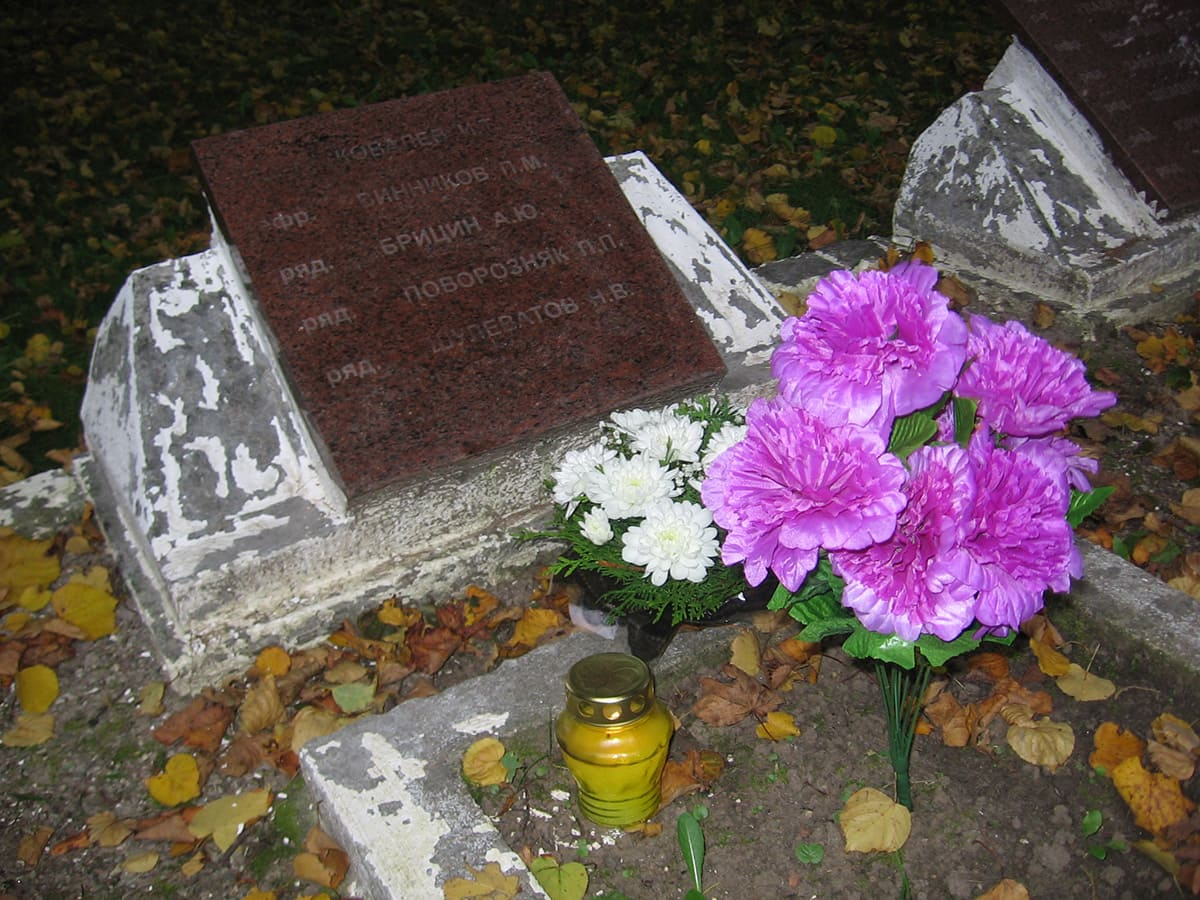 Дзень Пермаогі. Месца апошняга супакаення Кавалёва І.Ц. на вайсковых могілках у літоўскай Седзе.