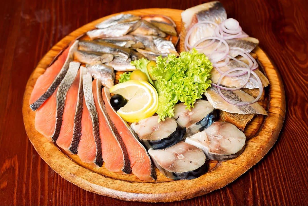 Карысць рыбы. Разнастайнасць рыбы.