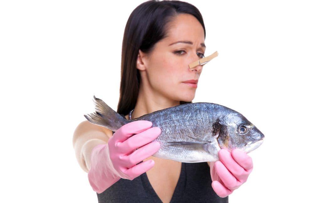 Карысць рыбы. Як пазбавіцца ад паху.