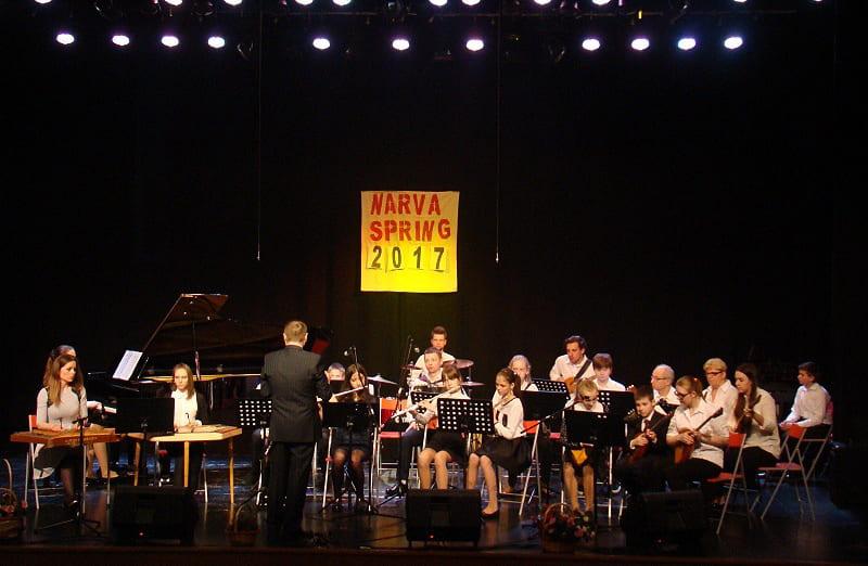 Балалайка. Аркестр удзельнічае ў міжнародным конкурсе.