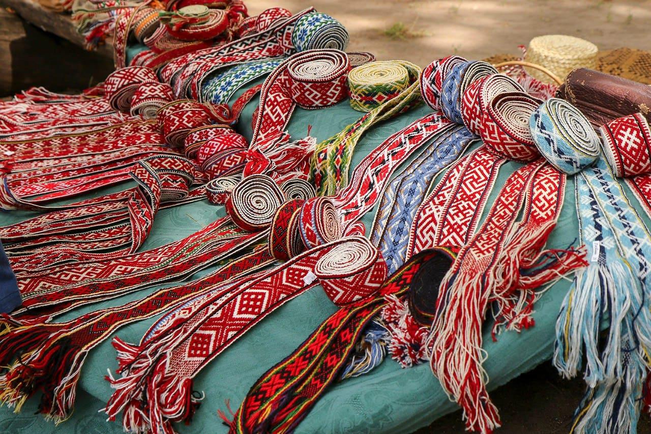 Беларускія паясы. Традыцыі нашых продкаў.