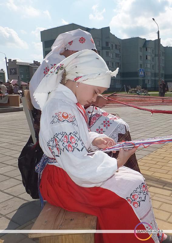 Беларускі пояс. Паясы ў пасаг.