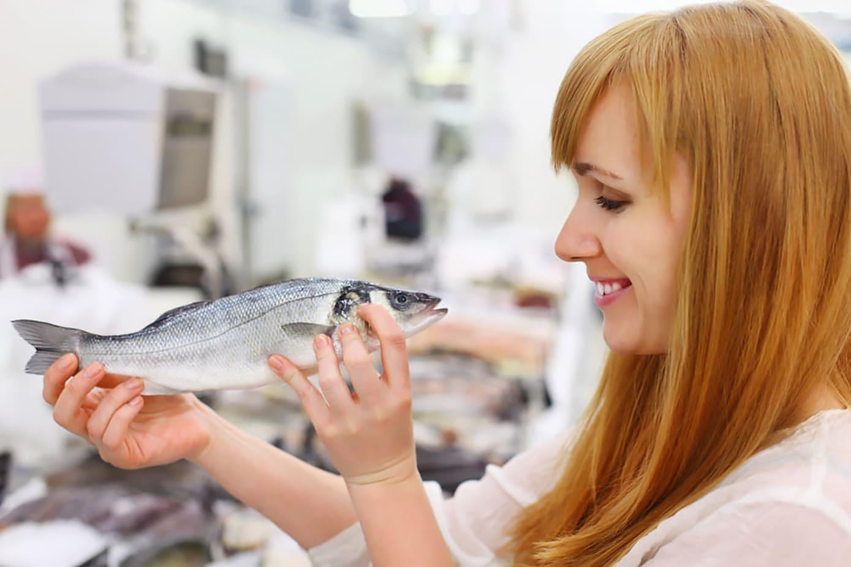 Рыба. Уменне чысціць рыбу.