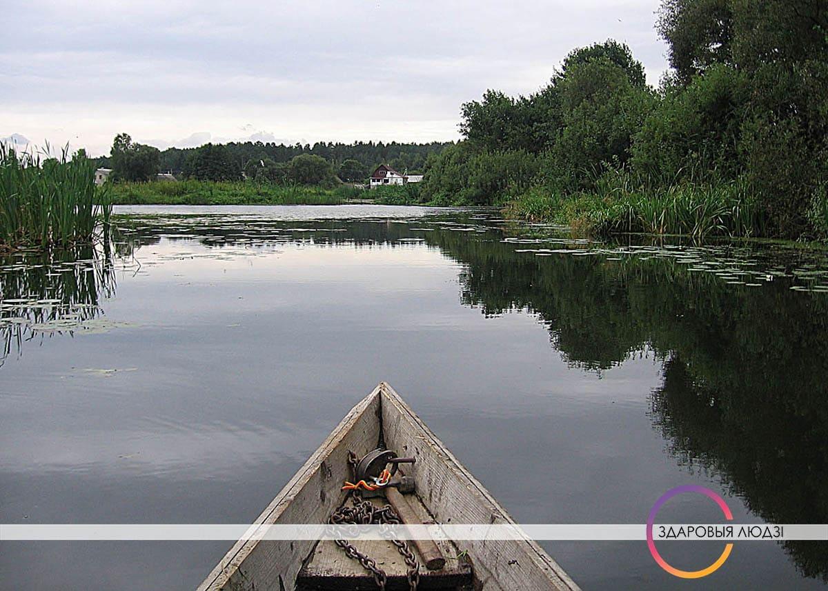 Рыба. Плывем да вёскі Убель.