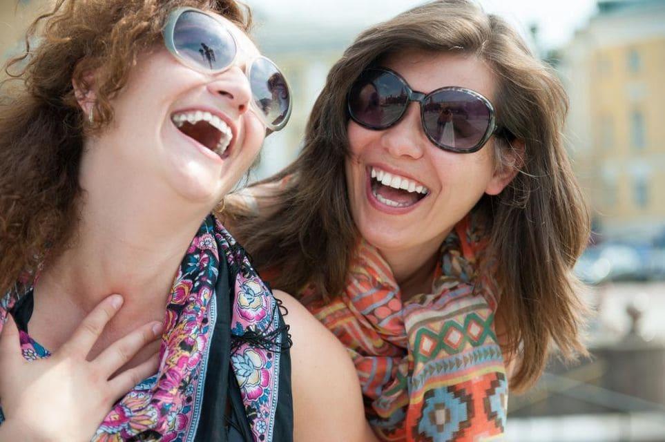 Усмешка. Смех і ўсмешкі ўмацоўваюць імунітэт.