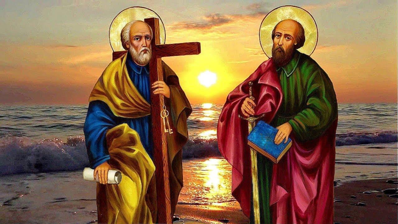 Пётр і Павел. Ушаноўваем 12 ліпеня.