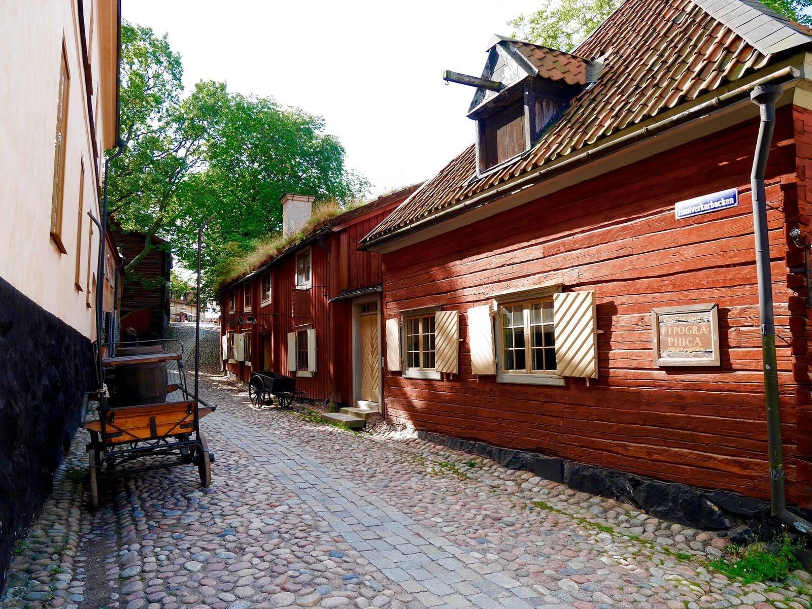 Скансэн. Музей у Швецыі.