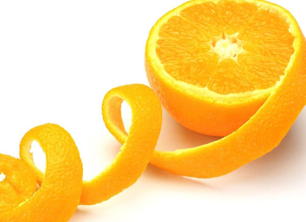Яблыкі і апельсіны. Як атраымаць са скуркі серпанцін.