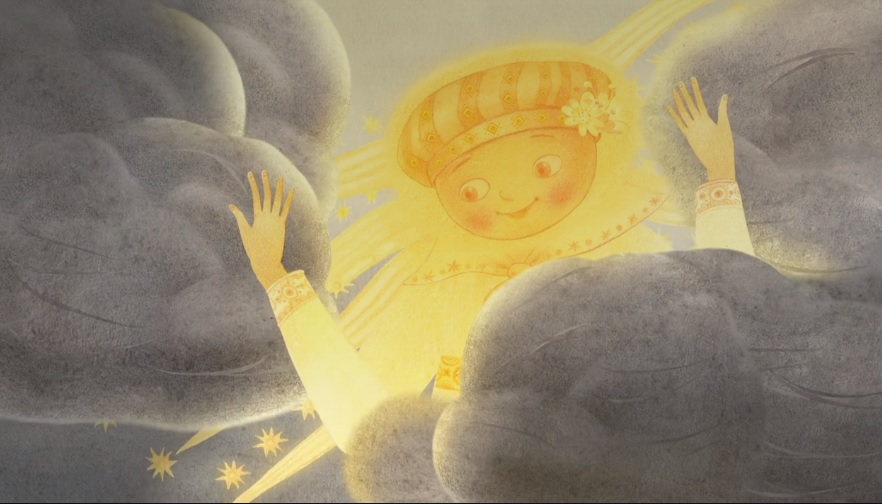 Мульцік «Беларусьфільм» «Вясна ўвосень», 2015 (9 хвілін)