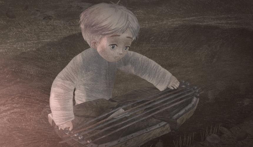 Мульцік «Паданне пра гуслі», 2019 (10 хвілін) «Беларусьфільм»